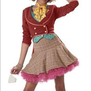 Teen/tween mad hatter costume